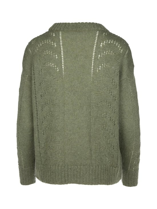 R-Collection - Luna Mohair Jumper -neule - 556 GREEN | Stockmann - photo 2