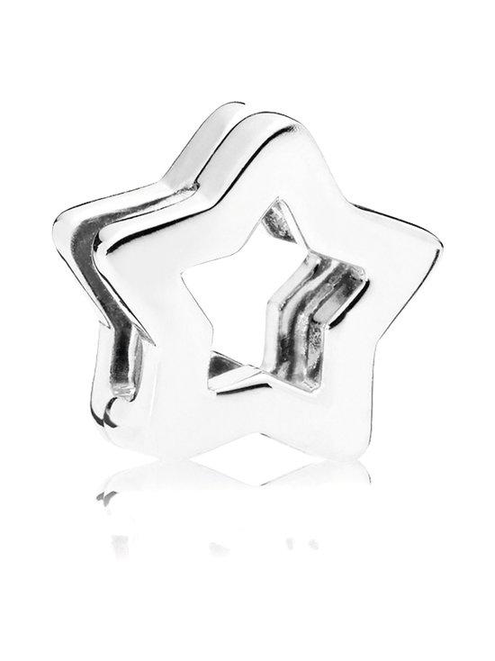 Pandora - Reflexions Star Silver Clip Charm -koru - SILVER | Stockmann - photo 1