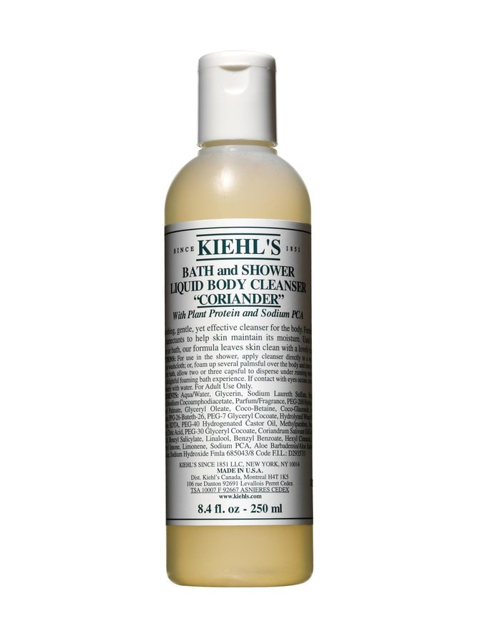 Bath and Shower Liquid Body Cleanser Coriander 250 ml -suihkugeeli