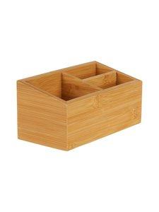 Casa Stockmann - Alfa Bamboo -lokerikko 18 x 9 x 8,5 cm - BAMBOO | Stockmann
