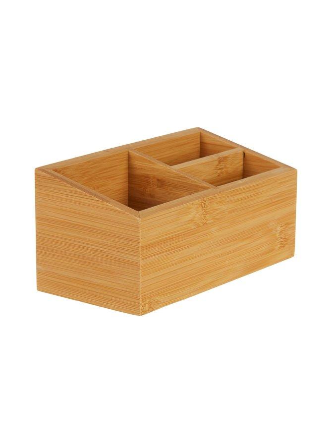 Alfa Bamboo -lokerikko 18 x 9 x 8,5 cm