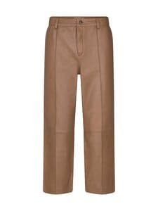 MOS MOSH - Como Leather Pants -nahkahousut - TOSTED COCONUT | Stockmann