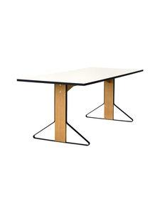 Artek - REB012 Kaari -pöytä, HPL - GLOSSY WHITE/NATURAL OAK (VALKOINEN/TAMMI) | Stockmann