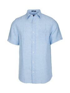 GANT - The Linen Regular -pellavapaita - 468 CAPRI BLUE | Stockmann