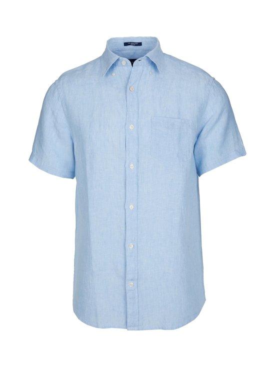 GANT - The Linen Regular -pellavapaita - 468 CAPRI BLUE | Stockmann - photo 1
