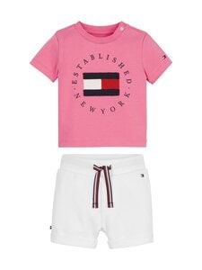 Tommy Hilfiger - Baby Established -setti - THJ EXOTIC PINK | Stockmann