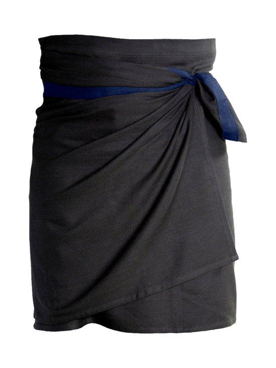 The Organic Company - Giant Kitchen Towel -keittiöpyyhe/esiliina 155 x 60 cm - BLACK/DARK BLUE (MUSTA/TUMMANSININEN) | Stockmann - photo 1