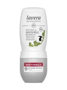 Lavera - Deo Roll-On Natural & Invisible deodorantti 50 ml | Stockmann