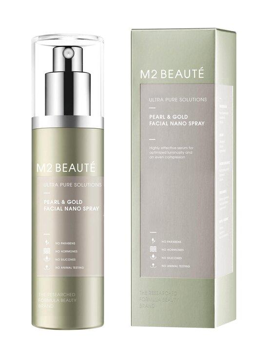 M2 Beauté - Ultra Pure Solutions Pearl & Gold Facial Nano Serum Spray -kasvoseerumisuihke 75 ml - NOCOL   Stockmann - photo 1