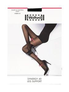 Wolford - Synergy Leg Support 40 den -sukkahousut - BLACK (MUSTA) | Stockmann
