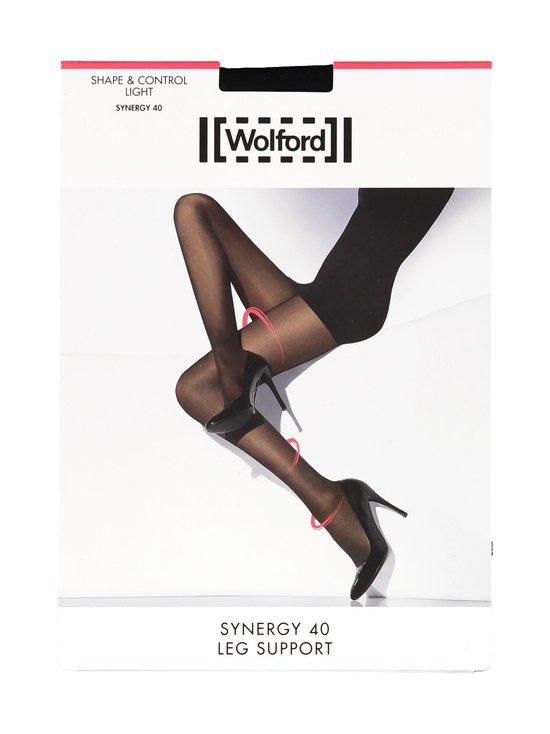 Wolford - Synergy Leg Support 40 den -sukkahousut - BLACK (MUSTA) | Stockmann - photo 1