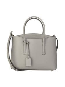 kate spade new york - Margaux Large Satchel -nahkalaukku - TRUE TAUPE | Stockmann