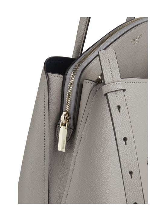 kate spade new york - Margaux Large Satchel -nahkalaukku - TRUE TAUPE | Stockmann - photo 3