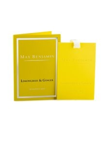 Max Benjamin - Lemongrass Ginger -tuoksukortti - LIGHT YELLOW | Stockmann