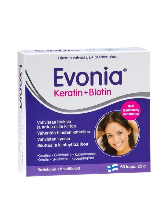 Evonia - Keratin + Biotin 60 kaps 25 g - null | Stockmann - photo 1