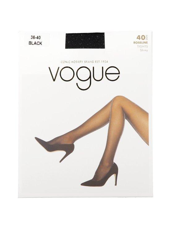 Vogue - Roseline 40 den -sukkahousut - 1210 BLACK | Stockmann - photo 1