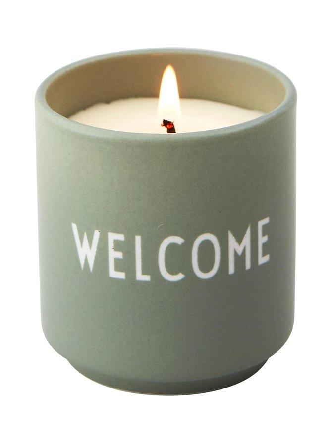 Welcome-tuoksukynttilä