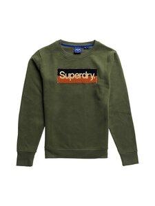 Superdry - Core Logo Workwear Crew -collegepaita - M6B FOUR LEAF CLOVER | Stockmann