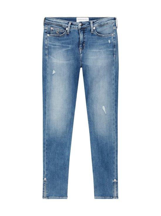 Calvin Klein Jeans - Super Skinny Ankle -farkut - 1AA AB039 LIGHT BLUE DSTR RIVET | Stockmann - photo 1