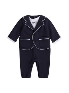 Hugo Boss Kidswear - All In One bodysuit -haalari - 849 NAVY | Stockmann