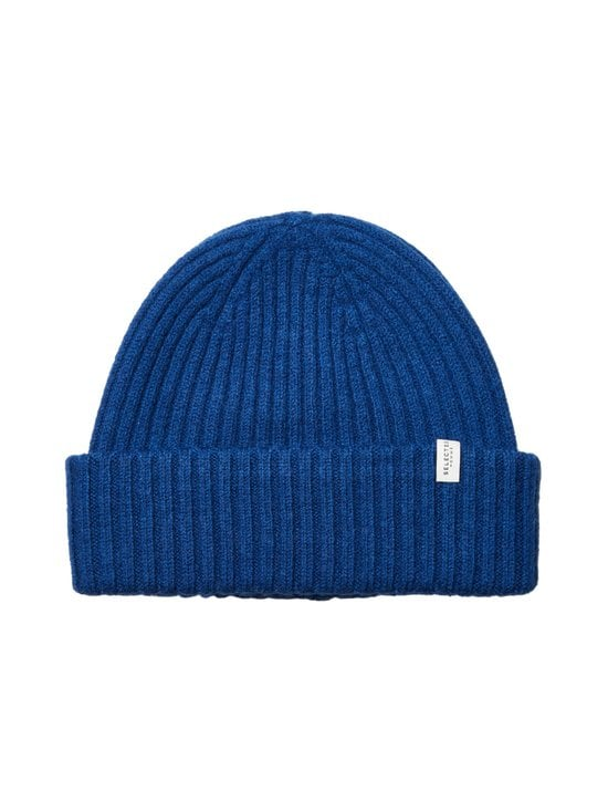 Selected - SlhMerino Cardigan Beanie -villapipo - ESTATE BLUE | Stockmann - photo 1