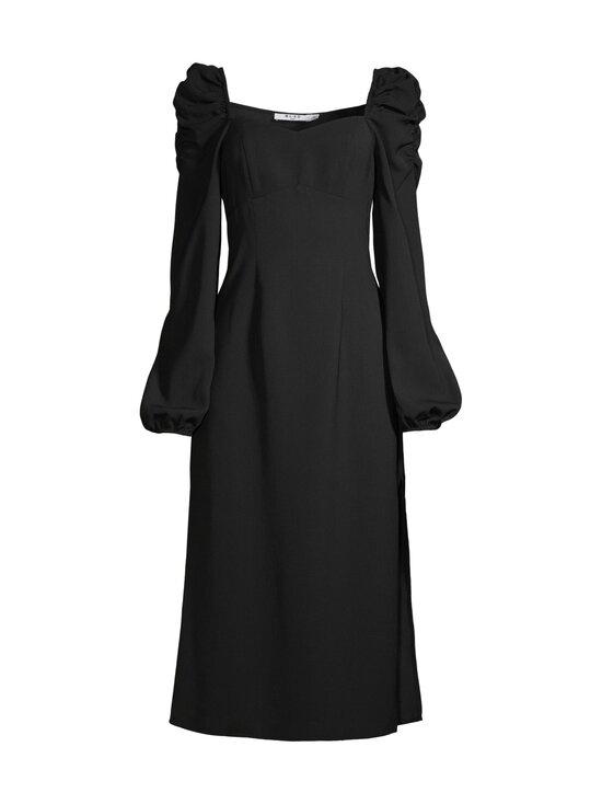 NA-KD - Puff Shoulder Midi Dress -mekko - BLACK | Stockmann - photo 1