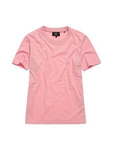 Superdry - Authentic Cotton Tee -paita - 5QZ SEA PINK | Stockmann