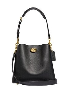 Coach - Willow Bucket Bag -nahkalaukku - B4/BLACK | Stockmann