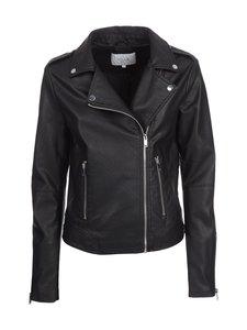 Vila - ViCara Faux Leather -takki - BLACK (MUSTA) | Stockmann