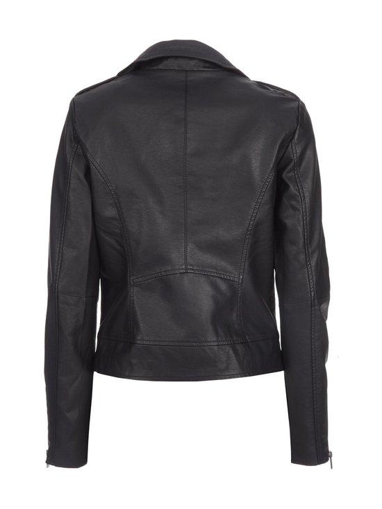 Vila - ViCara Faux Leather -takki - BLACK (MUSTA)   Stockmann - photo 2
