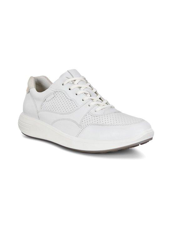 ecco - Soft 7 Runner -nahkasneakerit - 01007-WHITE | Stockmann - photo 1