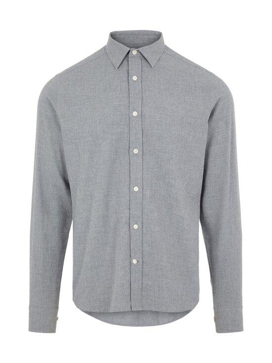 J.Lindeberg - Light Flannel Slim Shirt -flanellipaita - 9116 GRANITE | Stockmann - photo 1
