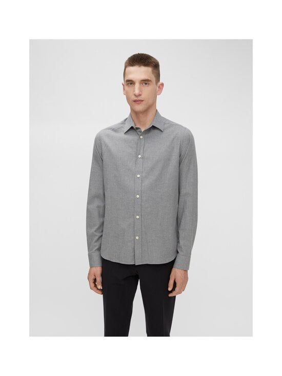 J.Lindeberg - Light Flannel Slim Shirt -flanellipaita - 9116 GRANITE | Stockmann - photo 3