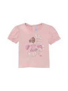 Mayoral - Small Girl Print With Flowers -t-paita - 45 PINK | Stockmann