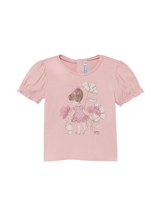 Mayoral - Small Girl Print With Flowers -t-paita - 45 PINK | Stockmann - photo 1