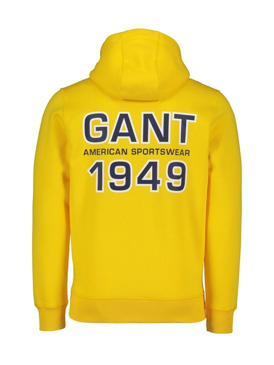 GANT - Sport Zip -huppari - 728 SOLAR POWER YELLOW | Stockmann - photo 2