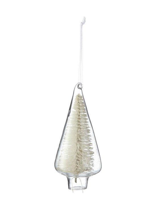 Casa Stockmann - Glass Tree with Tree inside -joulukoriste 5,7 x 5,7 x 14 cm - CLEAR | Stockmann - photo 1