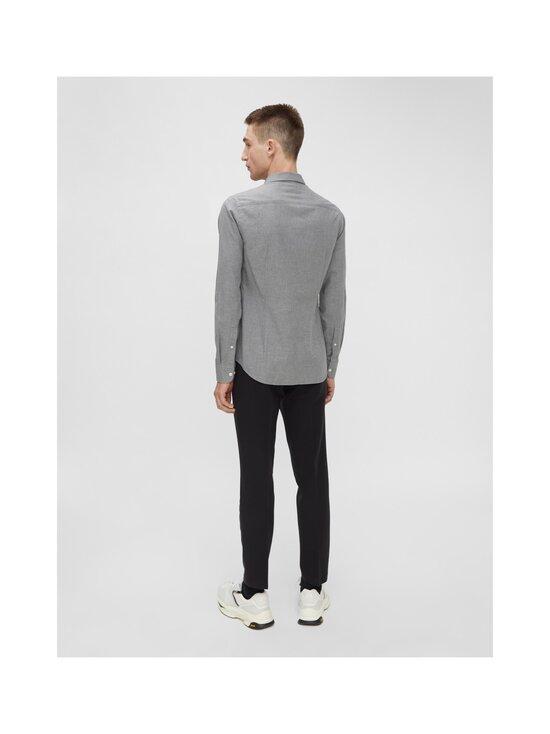 J.Lindeberg - Light Flannel Slim Shirt -flanellipaita - 9116 GRANITE | Stockmann - photo 4