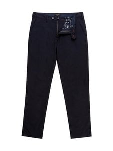 Ted Baker London - Smile Slim Fit Satin Finish Chinos -chinot - 10 NAVY | Stockmann