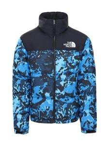 The North Face - M 1996 Retro Nuptse -untuvatakki - TPZ CLEARLAKEBLUDIGITOPOPRINT | Stockmann