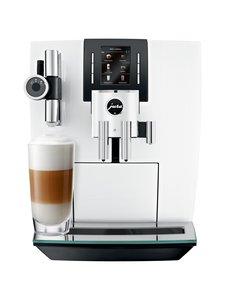 Jura - J6-kahvikeskus - PIANO WHITE (VALKOINEN) | Stockmann