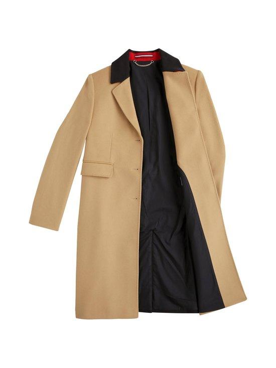 Tommy Icons Classic Colour-Block Coat -villakangastakki