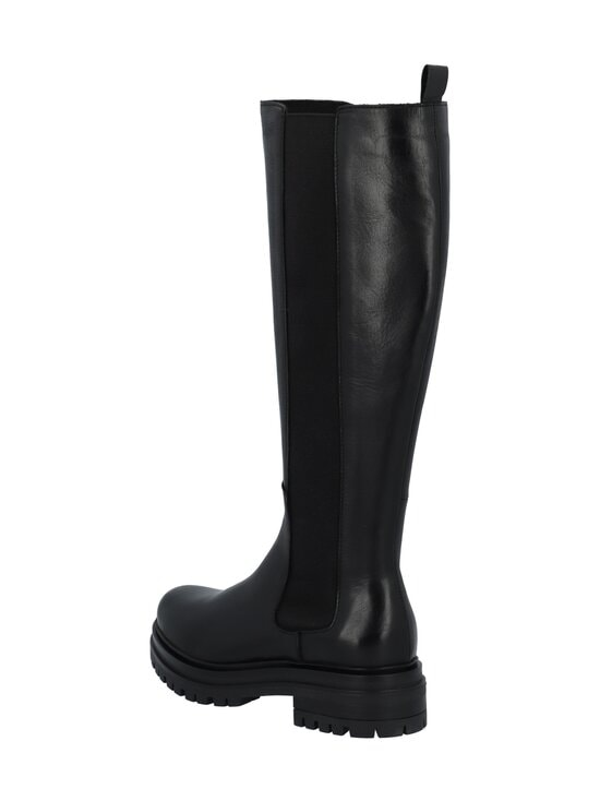 BIANCO - Biadarlene Chelsea Long Boot -nahkasaappaat - 100 BLACK   Stockmann - photo 2