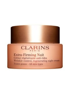 Clarins - Extra-Firming Nuit Wrinkle Control Regenerating Night Silky Cream for All Skin Types -yövoide 50 ml - null | Stockmann