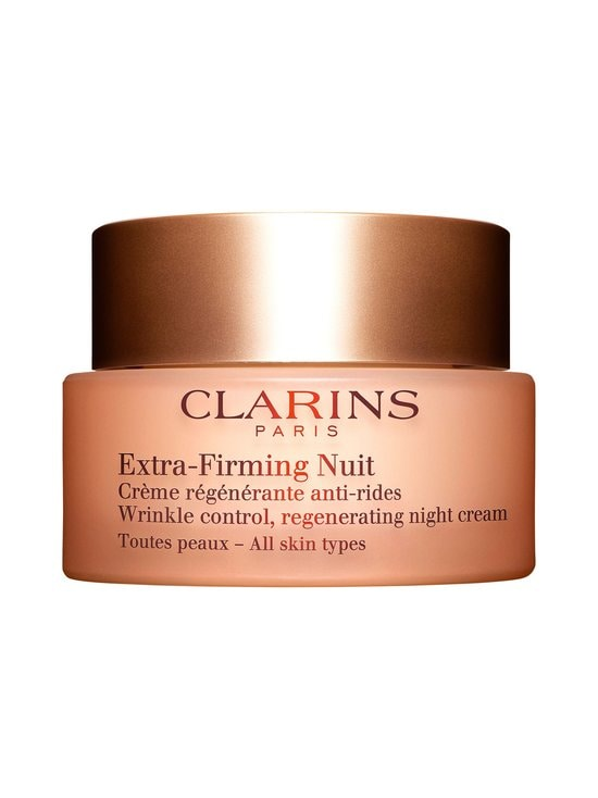 Clarins - Extra-Firming Nuit Wrinkle Control Regenerating Night Silky Cream for All Skin Types -yövoide 50 ml - NOCOL | Stockmann - photo 1