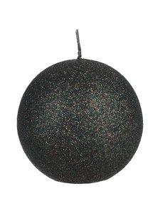 Balmuir - Glitter Ball -pallokynttilä 10 cm - 730 PINE GREEN | Stockmann