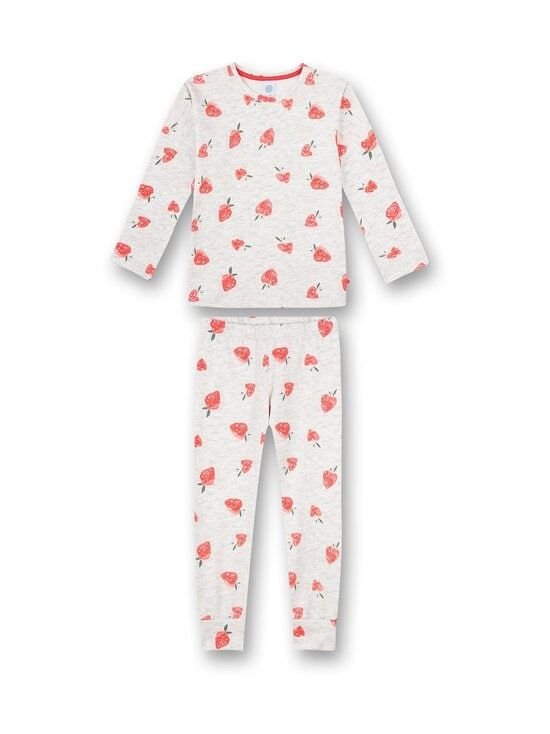 Sanetta - Strawberry Field -pyjama - 1988 LIGHT GREY | Stockmann - photo 1