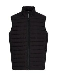 Calvin Klein Menswear - Crinkle Nylon Vest -kevyttoppaliivi - BEH CK BLACK | Stockmann