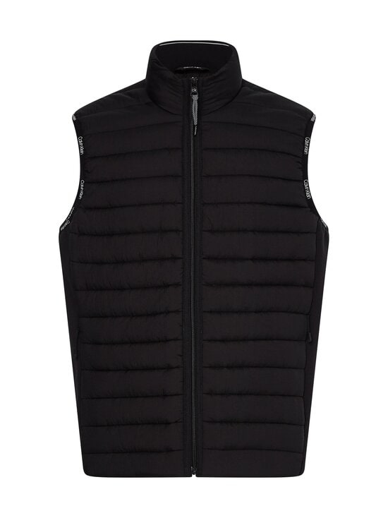 Calvin Klein Menswear - Crinkle Nylon Vest -kevyttoppaliivi - BEH CK BLACK | Stockmann - photo 1