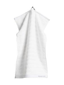 Gant Home - Organic Line -pyyhe 30 x 50 cm - 110 WHITE | Stockmann